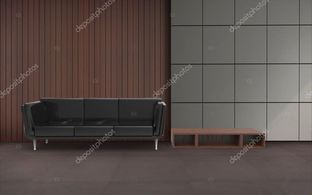 Computer Grafik Arbeiten Und Wohnzimmer Set Setzen Moderne Und Sofa Modernes  Neujahr Dekoration Stil Und Konzept Interieur Des Home Office / 3d Render  Bild ...