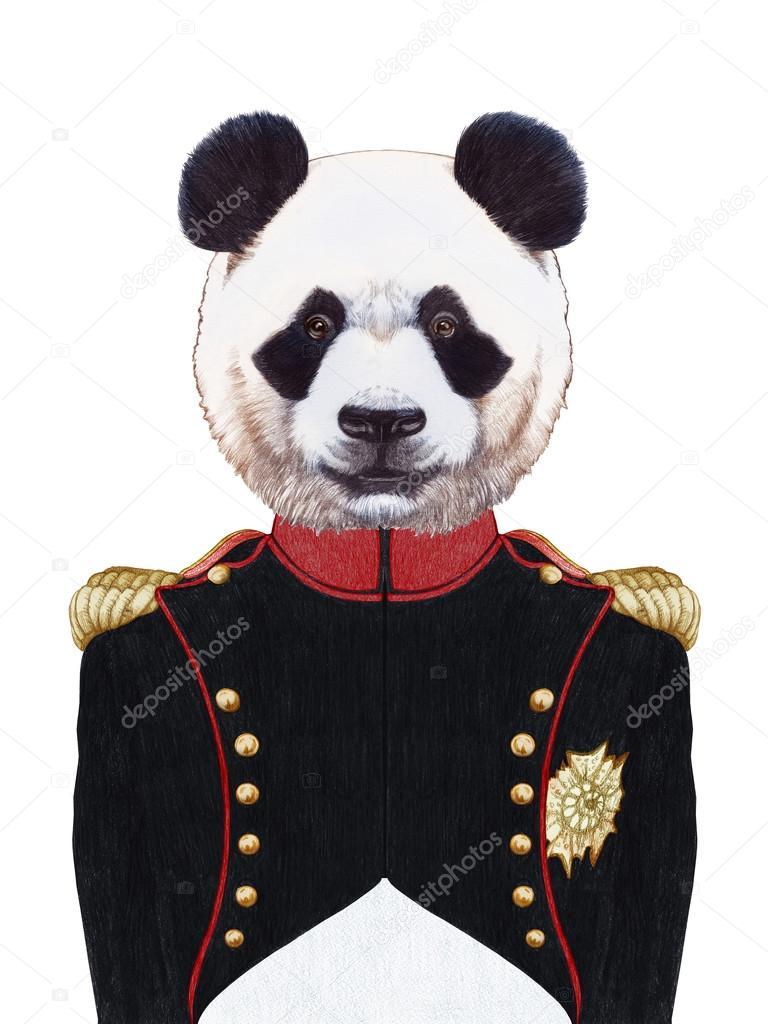 панда военный