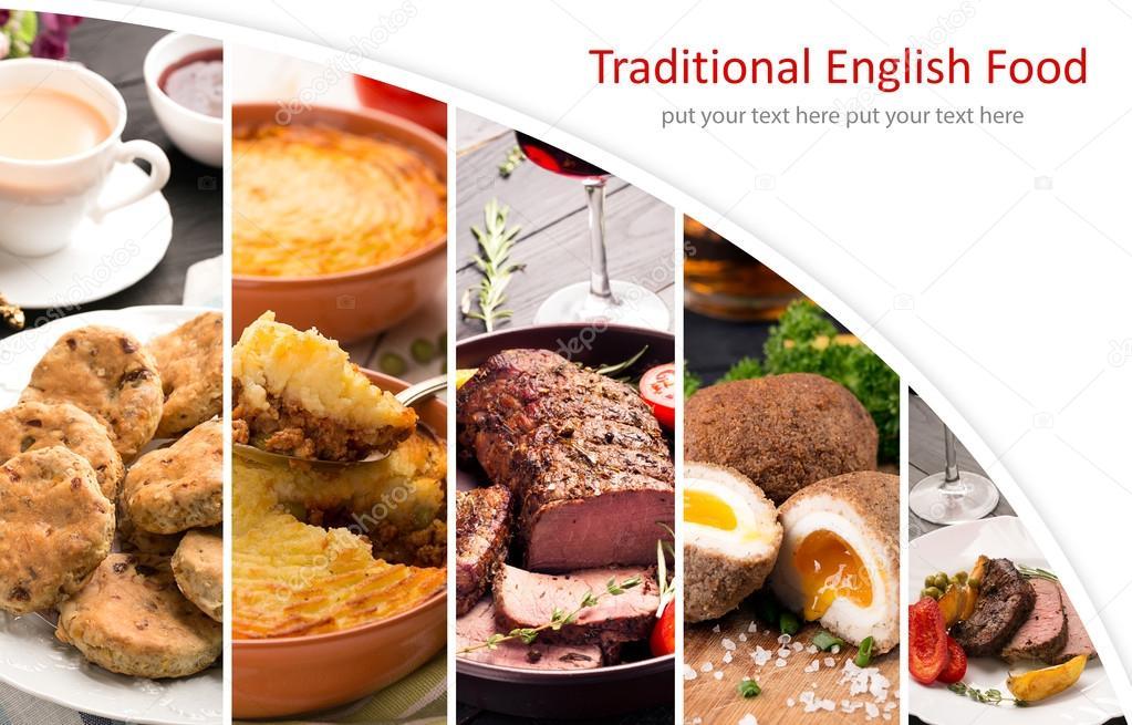 Cucina tradizionale inglese — Foto Stock © civil #96926026