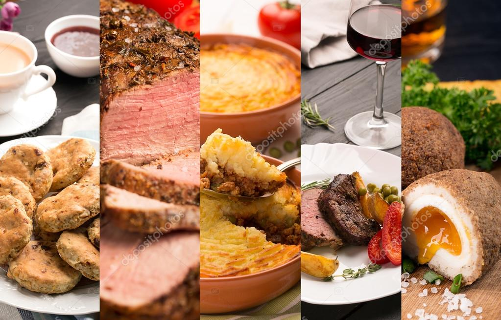 Cucina tradizionale inglese — Foto Stock © civil #96926032
