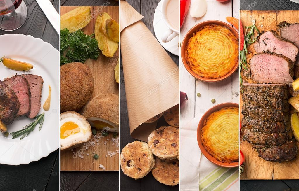 Cucina tradizionale inglese — Foto Stock © civil #96926110