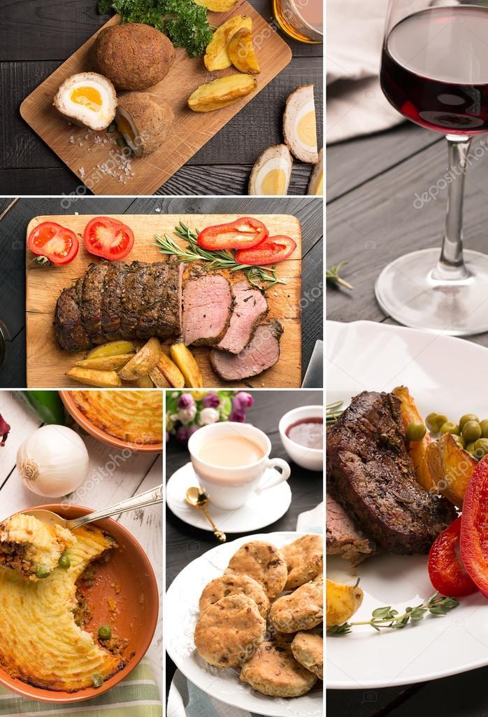 Cucina tradizionale inglese — Foto Stock © civil #96926380