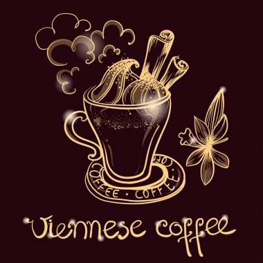 cup of viennese coffee