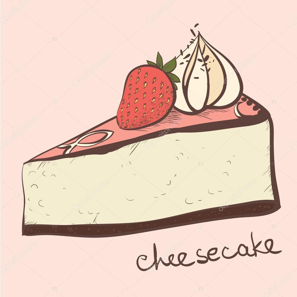 Cake Cheesecake Stock