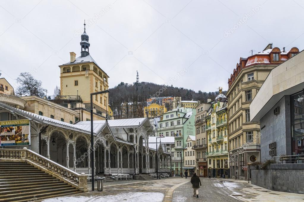 Favolose belle case karlovy vary foto stock kuzhilev for Case favolose