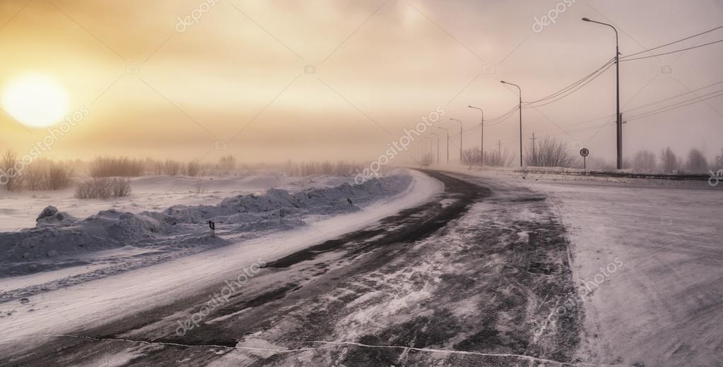 Winter tundra