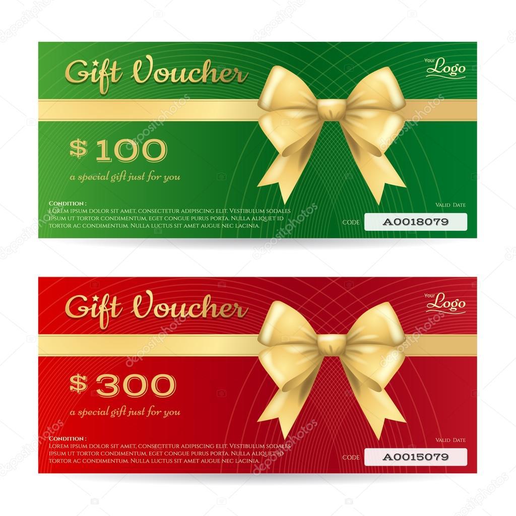 Elegante Weihnachten Geschenk Karte oder ein Geschenk-Gutschein ...