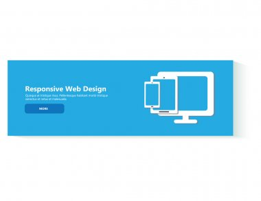 responsive web design banner template
