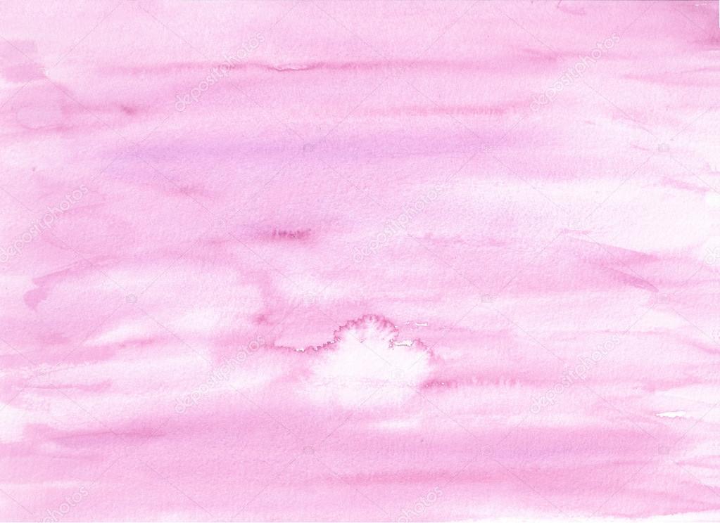 light purple watercolor background � stock vector