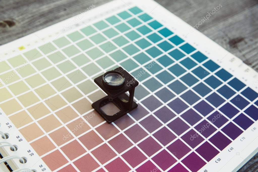 cmyk color management linen tester