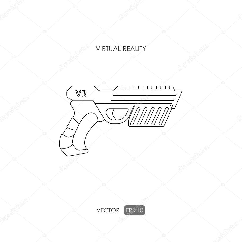 fotos pistolas para dibujar pistola para sistema de realidad