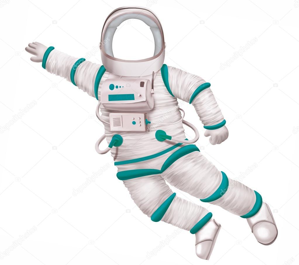 template of a flying astronaut stock photo ssmaltsev 103014770