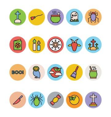 Halloween Vector Icons 2