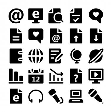 Communication Vector Icons 3.