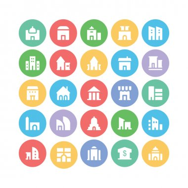 Building & Furniture Vector Icons 2