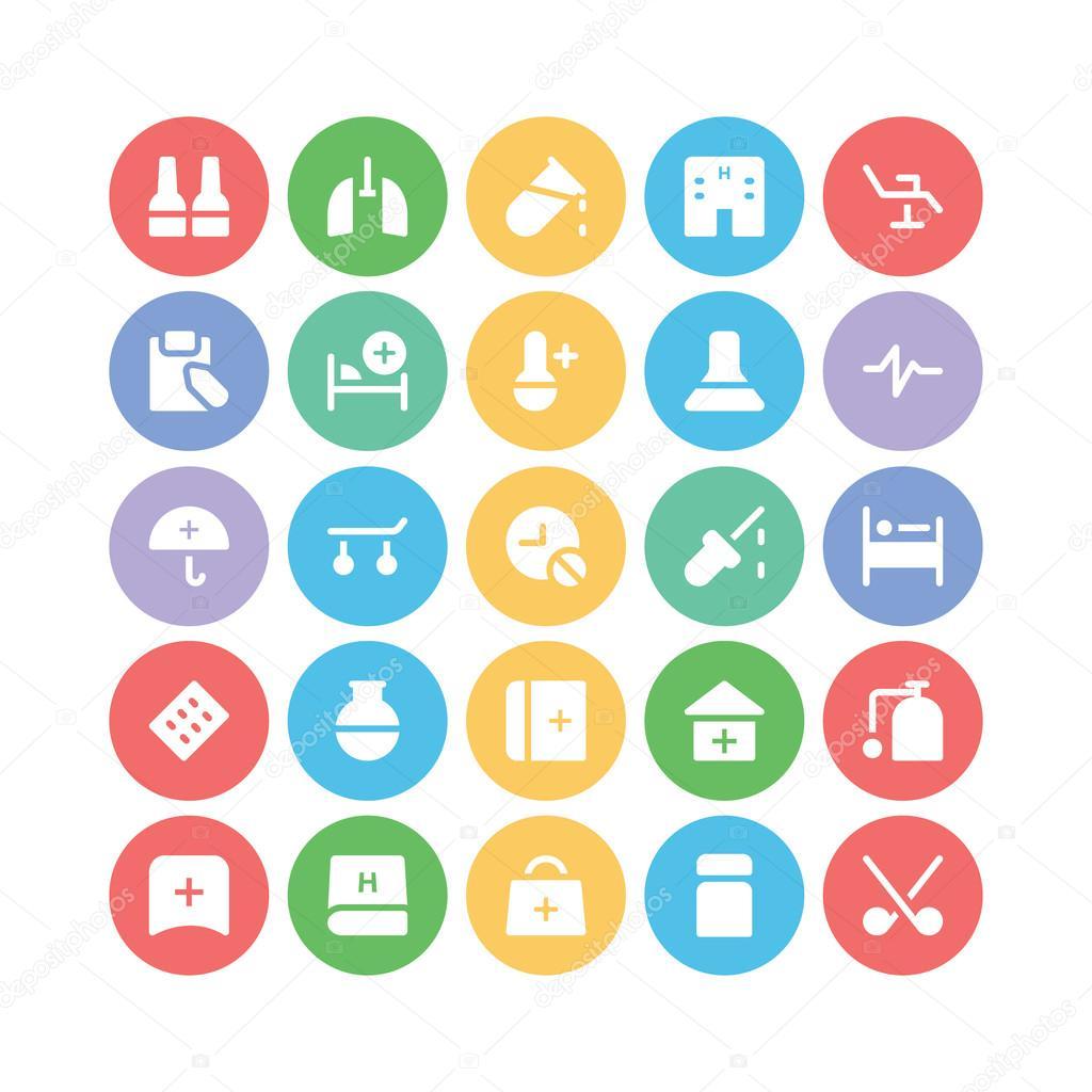 health vector icons 7 � stock vector 169 vectorsmarket
