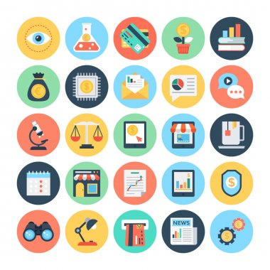 Business & Finance Vector Icons 1