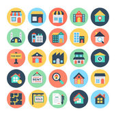 Photo Real Estate Vector Icons 1