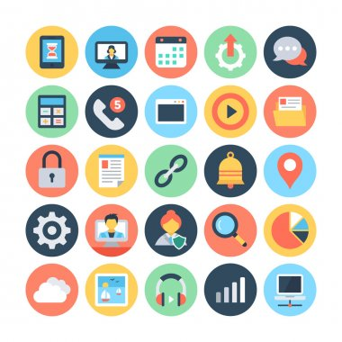Web and Networking Vector Illustrations 2