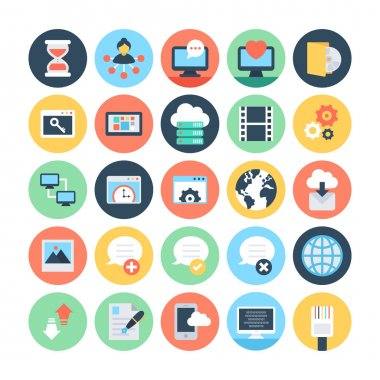 Web and Networking Vector Illustrations 5