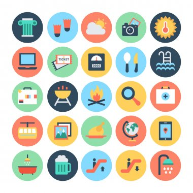 Travel Vector Icons 5