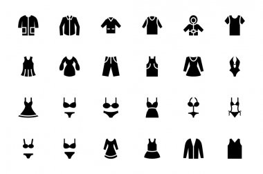 Clothes Vector Icons 1