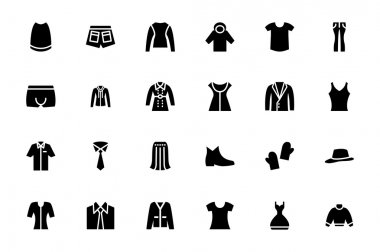 Clothes Vector Icons 4