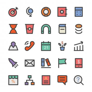 SEO and Marketing Vector Icons 2