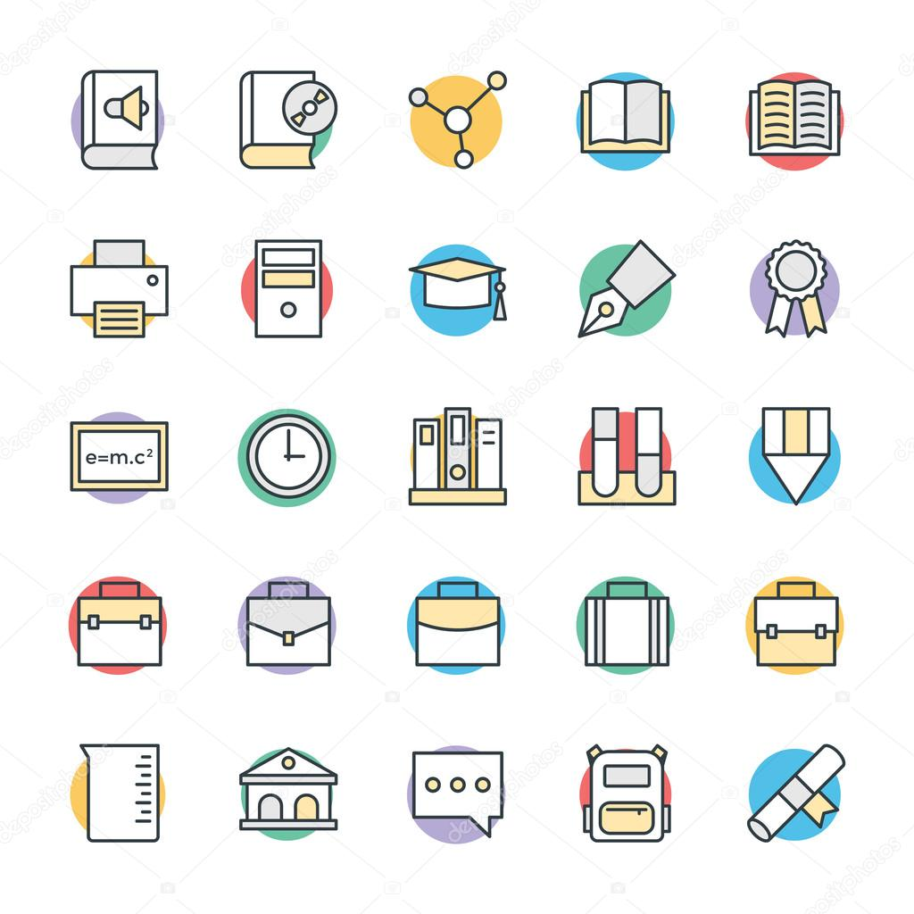 Education Cool Vector Icons 3