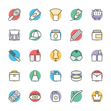 Fashion and Clothes Cool Vector Icons 2