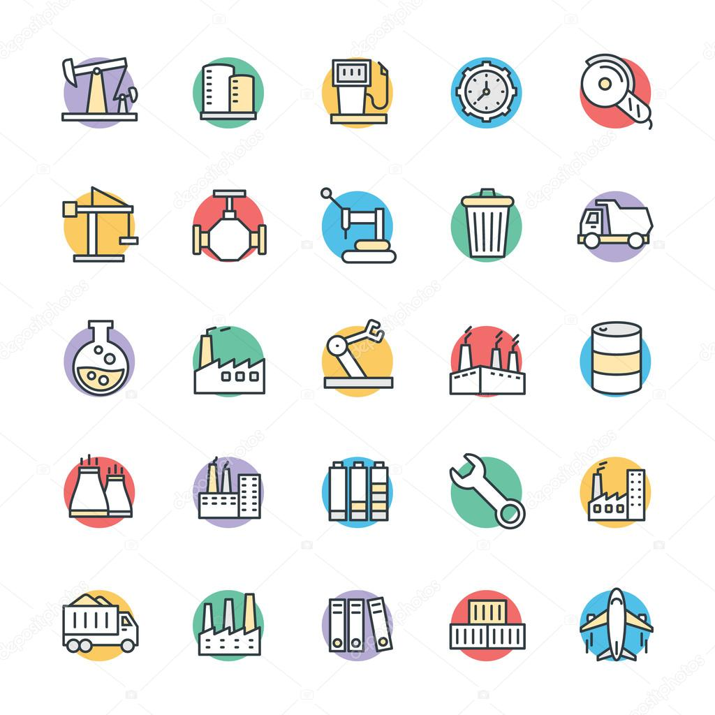 Industrial Cool Vector Icons 3