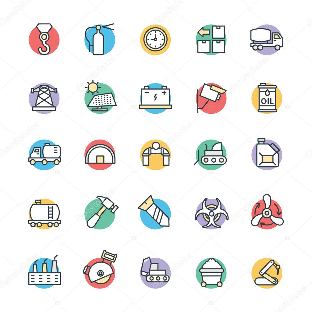Industrial Cool Vector Icons 4