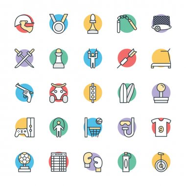 Sports Cool Vector Icons 4