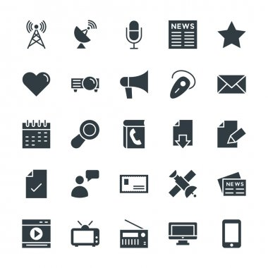 Communication Cool Vector Icons 2