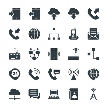 Communication Cool Vector Icons 1