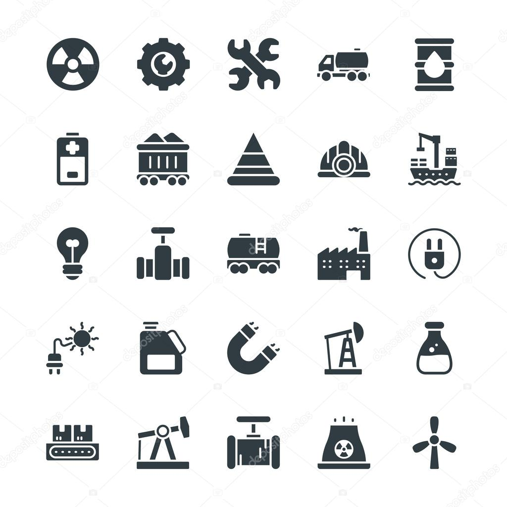 Industrial Cool Vector Icons 1