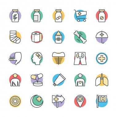Medical and Health Cool Vector Icons 5