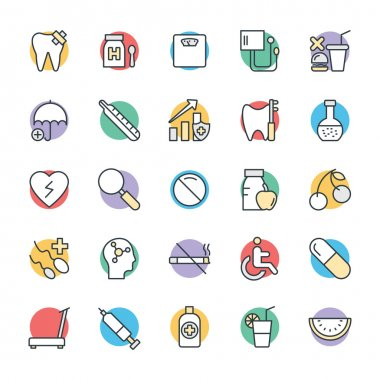 Medical and Health Cool Vector Icons 9