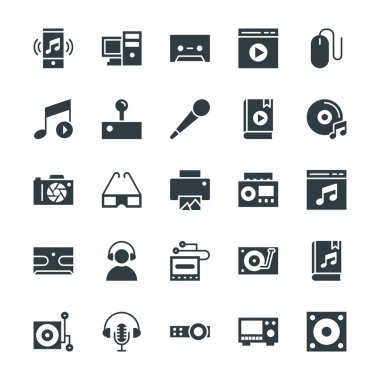 Multimedia Cool Vector Icons 5