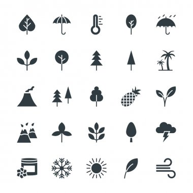 Nature Cool Vector Icons 1