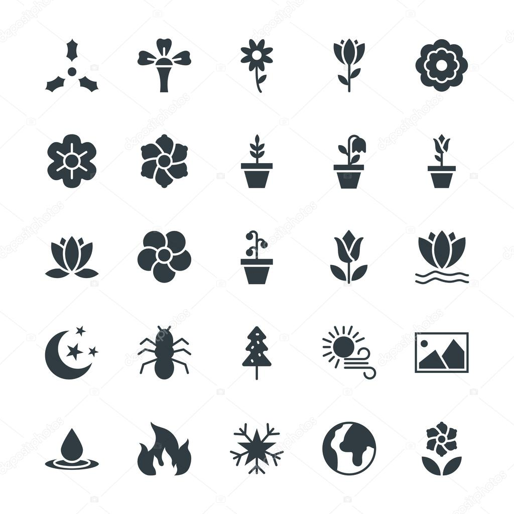 Nature Cool Vector Icons 5