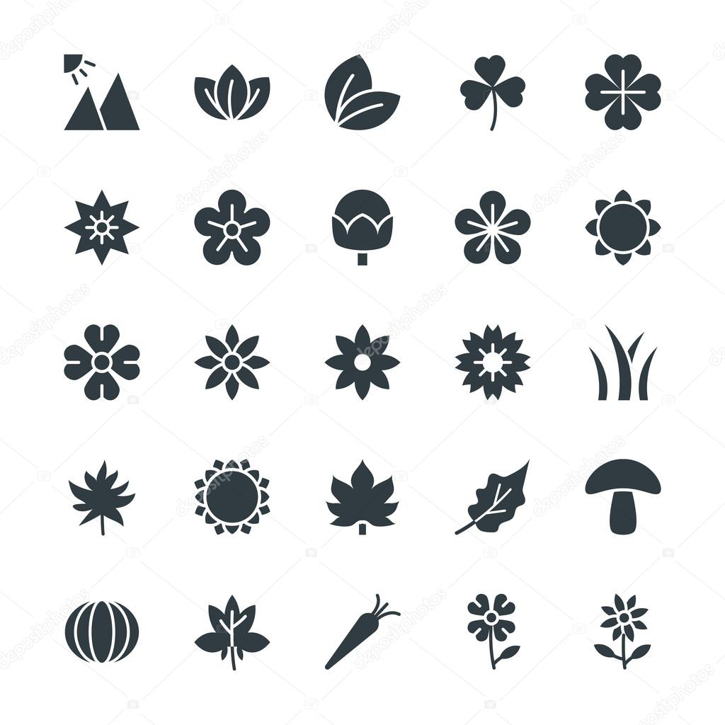 Nature Cool Vector Icons 3