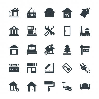 Real Estate Cool Vector Icons 3
