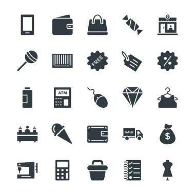 Shopping Cool Vector Icons 2