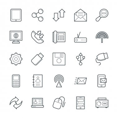 Communication Cool Vector Icons 3