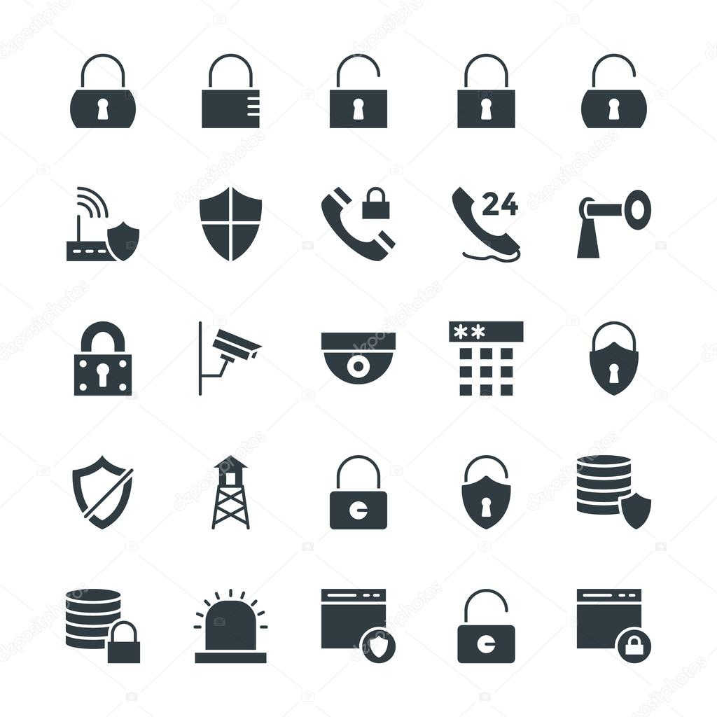 Security Cool Vector Icons 1