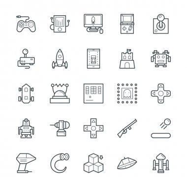 Gaming Cool Vector Icons 1