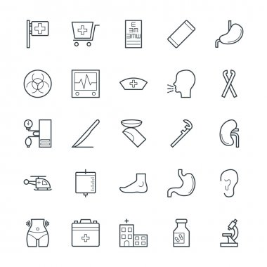 Medical and Health Cool Vector Icons 6