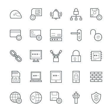 Security Cool Vector Icons 3