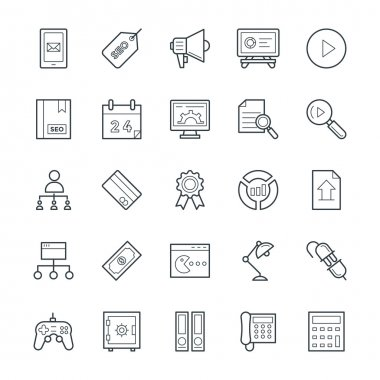 SEO and Internet Marketing Cool Vector Icons 4